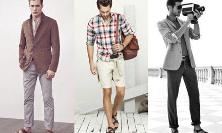 Мода за мъже през месец август