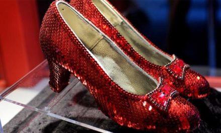 Рубинените пантофки – най – скъпите обувки в света