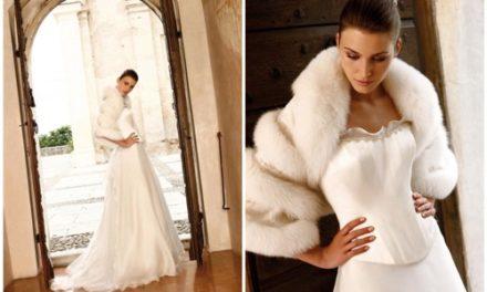 Сватбена мода през зимата