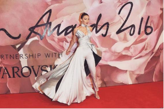 British Fashion Awards 2016