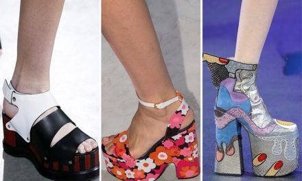Красиви обувки на седмицата на модата в New York