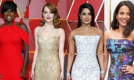 Красиви рокли на церемонията на Оскарите за 2017 г.