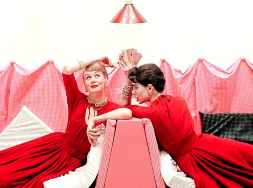 Носете червено и розово в комбинация за Свети Валентин