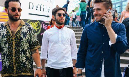 Street  Style за пролет 2017 г. при мъжете