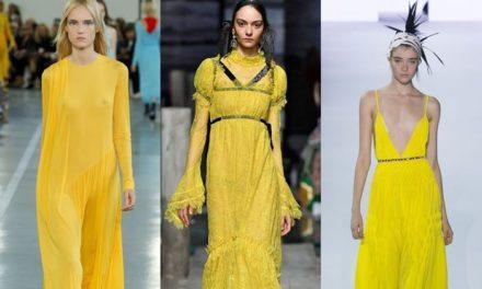 Тази пролет носете слънчево жълто