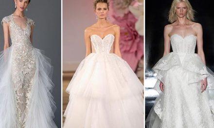 Сватбени рокли за пролетта и лятото