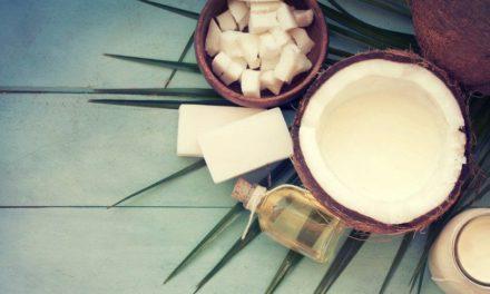 Маски за лицето и косата от кокосово масло