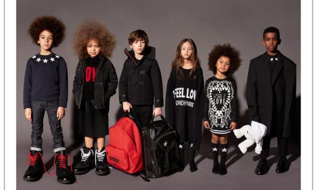 Givenchy с първа детска колекция за есен – зима 2017 – 2018