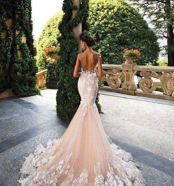 Сватбена мода в розово за пролетта и лятото за 2017 г.