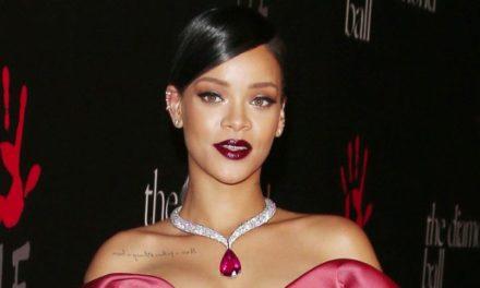 Rihanna представи колекцията си за бижута в Кан