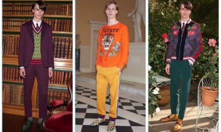 Gucci с нова колекция за Mr. Porter