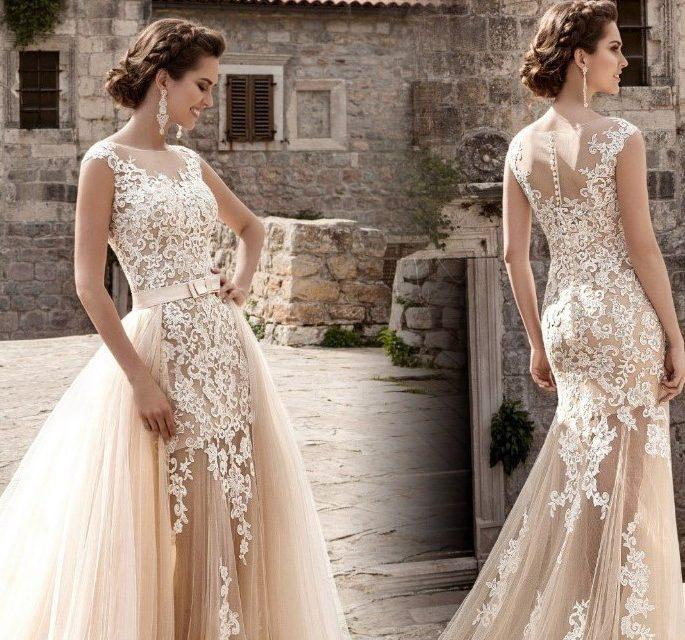 Luxus Wedding скъпи сватбени рокли Fashion Steps