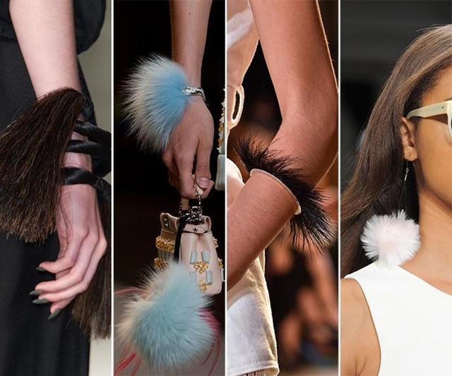 Нов тренд – пухчета по дрехите и аксесоарите