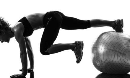 Упражнения с топка