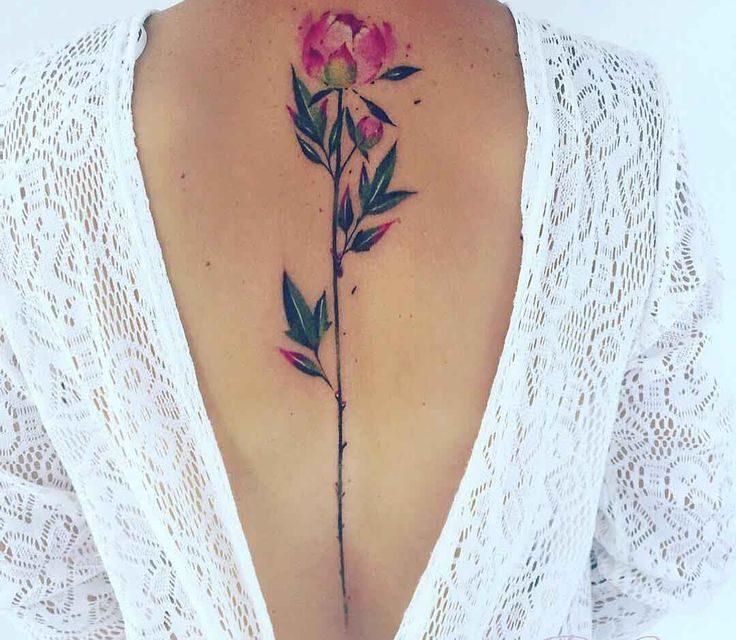 Красиви татуировки за пролетта и лятото