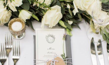 Вашето сватбено меню