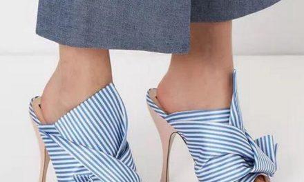 Обувките от сатен много модерни този сезон