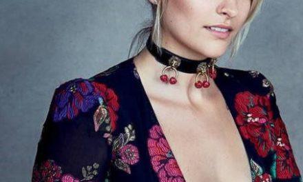 Paris Jackson с първа корица за Vogue