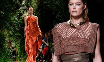 Balmain womenswear show пролет/лято 2017 г.
