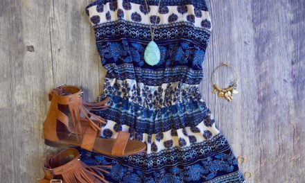 Deep blue, blue… носете много синьо този месец юли