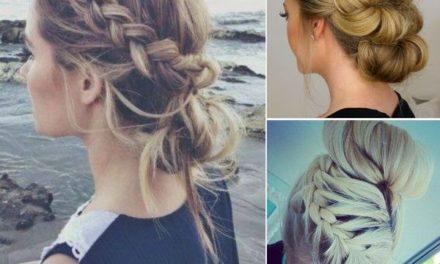 Красива коса за лятото