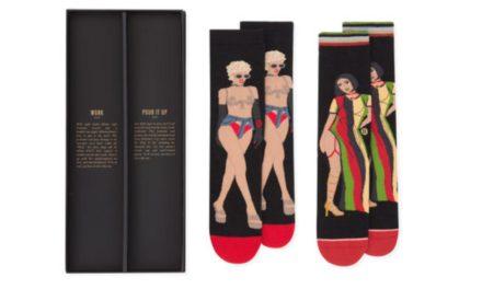 Чорапи с лика на Rihanna