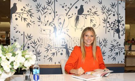 Gwyneth Paltrow се снима корица на собственото си списание