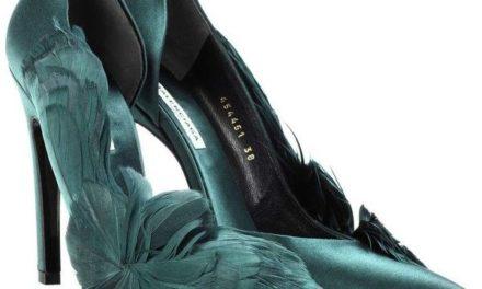Аксесоар за месец октомври – обувките на високи токчета