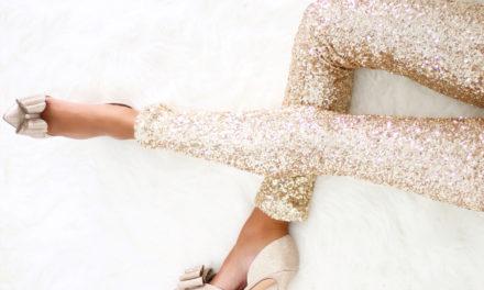 За тази зима бъдете готови за златни панталони