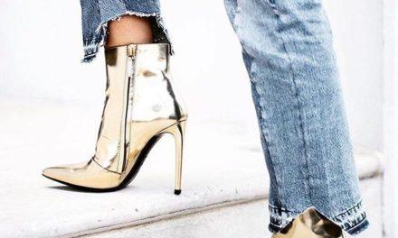 За тази есен и зима носете обувки с метални отблясъци