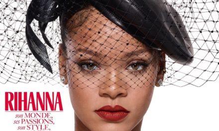 Rihanna e лице на три корици на Vogue