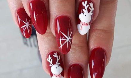 Нека ви е Коледно с празничен маникюр