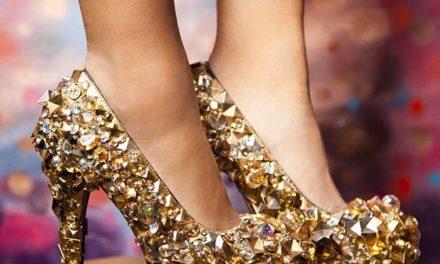 За 2018 г. очаквайте много бляскави обувки