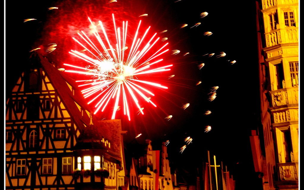 Честита Нова 2018 година в Ротенбург