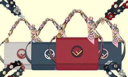 Fendi с различен дизайн на дръжките на чантите си