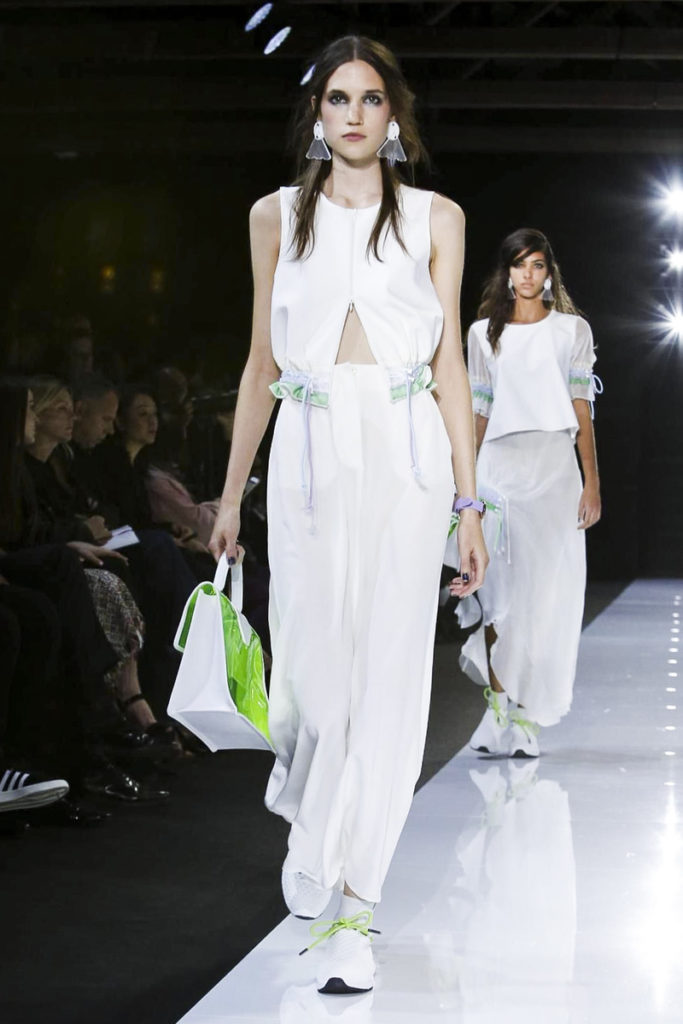 Emporio Armani Men And Women Fashion Show, Ready to Wear Collection Spring Summer 2018 in London