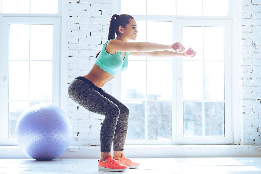 Няколко упражнения за бърза тренировка