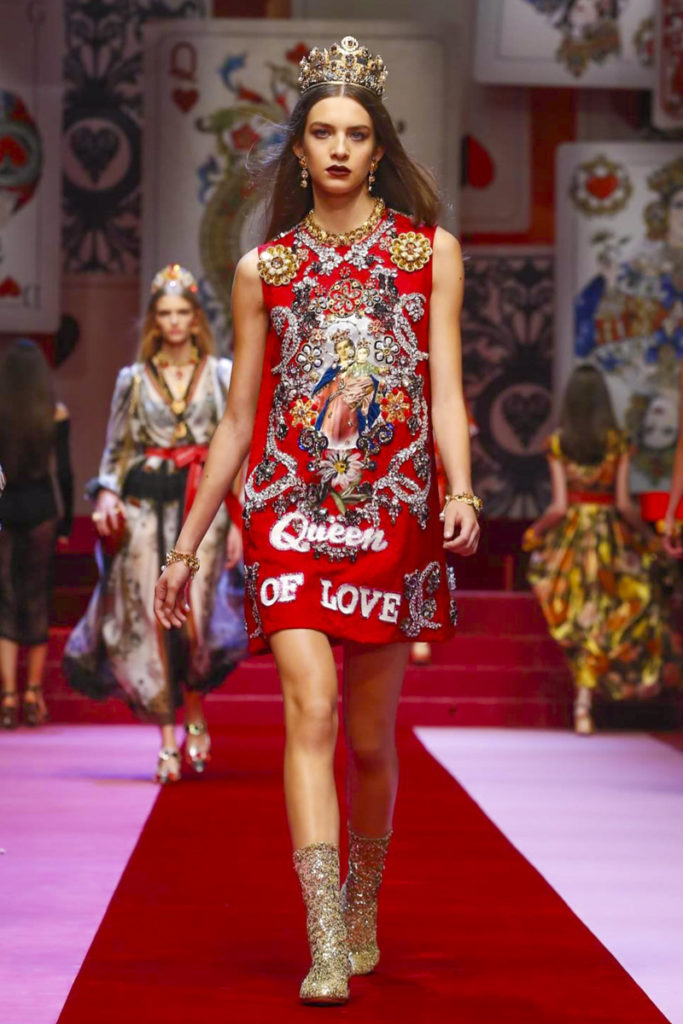 Dolce & Gabbana, Fashion Show, Ready to Wear Collection Spring Summer 2018 in Milan