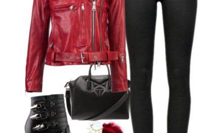 Hot red: за тази пролет червените якета и шлифери са много модерни
