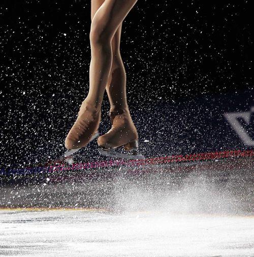 Кънки на лед за красива фигура