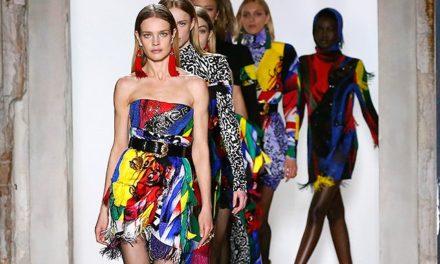 Versace представиха уникалната си колекция вдъхновена от 80-те години