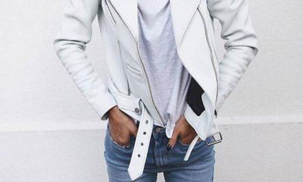 Fashion тенденцията за пролетта – белите кожени якета