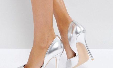 Този сезон носете сребърни обувки на високи токчета