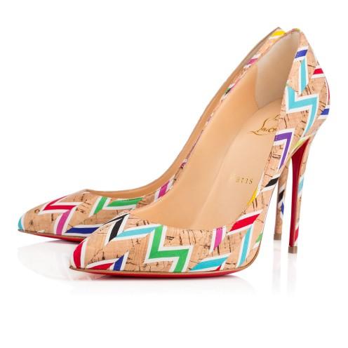 За тази пролет носете многоцветни обувки на високи токчета