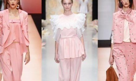 За тази пролет носете розови костюми