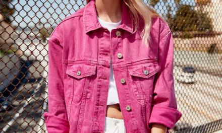 За тази пролет се пригответе за дънкови якета в розово