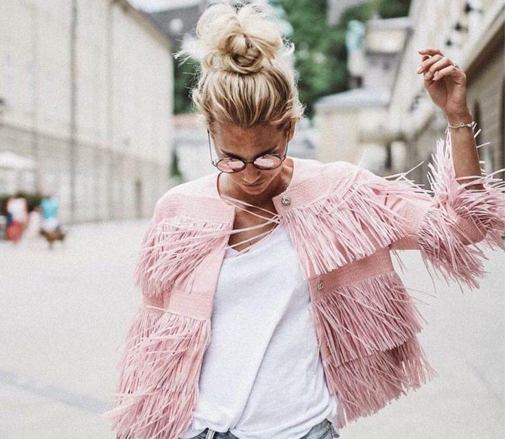 За тази пролет и лято носете красиви блузи на ресни