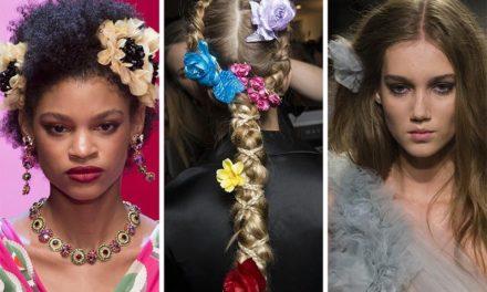 За тази пролет бъдете много красиви с цветя в косата