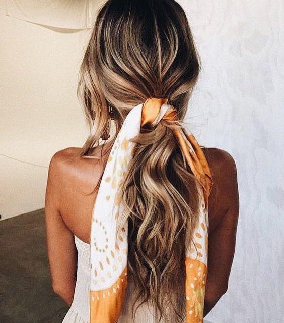 Най – модерната прическа за коса – красивата опашка