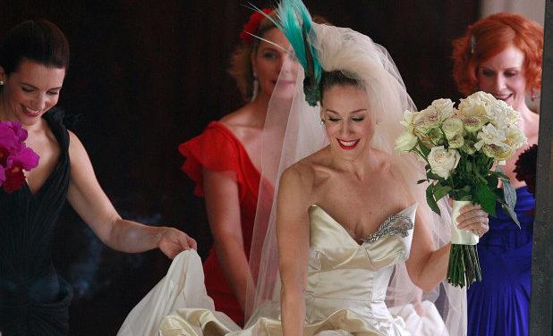 Sarah Jessica Parker е дизайнер на булченска колекция